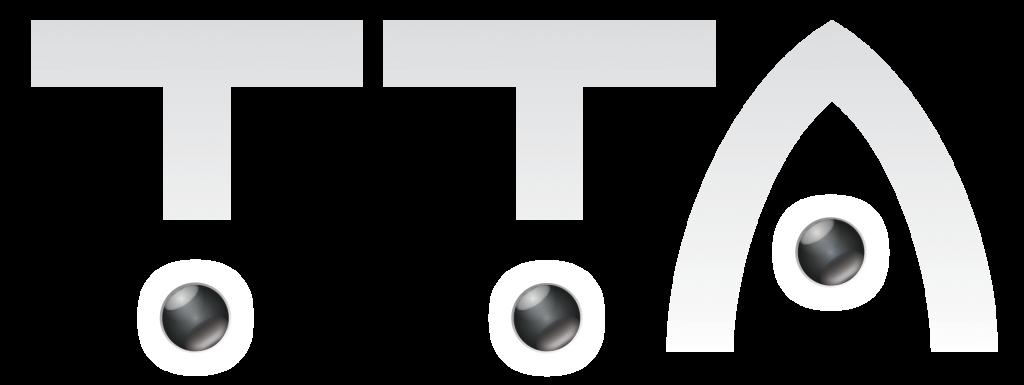 TTA logo negative