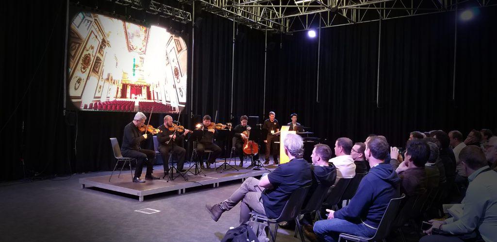 Audio tracking symphony orchestra with Yamaha AFC-4 plugin