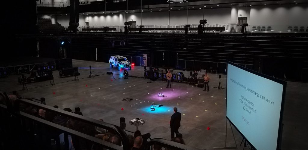 Tracking RC-cars with Stagetraker II and ArtNet plugin
